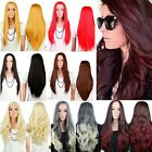 "Blonde Sexy Women's Long Straight And Curly 25"" Half Wig Heat Resistant Daily P6"