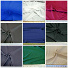 Discount Fabric Choose Your Color Polyester Lycra/Spandex 4 way Super Stretch LY