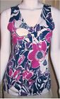 NWT Ann Taylor Floral Twist Knot Sleeveless Knit Top $58    Multi