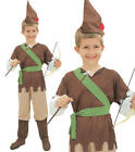 Childrens Kids Robin Hood Fancy Dress Costume Book Week Outfit 3-10 Yrs