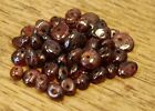 """GARNET SMALL TUMBLE CHIP BEADS - 50 BEADS or 36"""" STRING"""