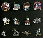 Mickey Mouse Minnie Donald Duck Pilot Doctor Dracula Poker Splendid Disney Pin