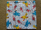 DISNEY, KIDS,& MISC HAND CRAFTED REMOVEABLE PILLOW CASE COVERS Q-W(GROUP 2 OF2)
