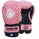 KIDS MACHINE MOLDED FOAM BOXING GLOVES FIGHT PUNCH REX LEATHER PINK 1010