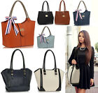 Women's Faux Leather Tote Bags Ladies Fashion Designer Handbags