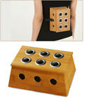 Heal Therapy Bamboo Mild Moxibustion Box Tool Moxa Stick Roll Holder Wooden Box