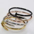 Stylish Design Women Men Stainless Steel Chain Punk Rock Bangle Bracelet Jewelry
