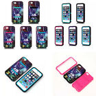 H IMD 3IN1 Hybrid Defender Back Cover Case For iPhone 5C SE 5 5s Feather Cosmos