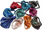 FAIR TRADE COTTON HAIR BANDANA BANDS HEADBAND ACCESORIES - 5 PACK
