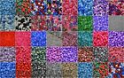 MIXED PLASTIC PONY BEADS DUMMY CLIPS BRAIDING, 1500 BEADS FOR £12.98 *3 FOR 2*