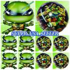 TEENAGE NINJA TURTLES Balloons Foil Mylar S-A Shower Birthday Party Supplies lot