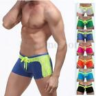 Mens Sexy Swimwear Boxer Briefs Swimming Swim Pool Trunks Board Shorts All Size