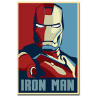 Iron Man Superheroes Marvel Comic Movie Silk Poster 12x1824x36 inches 003