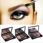Professional 3 Colour Eyebrow powder kit lasting Make Up Eyebrow Powder/Shadow