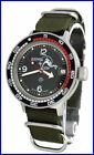 AMPHIBIA 200m VOSTOK AUTOMATIC MECHANICAL WATCH !NEW! 6c