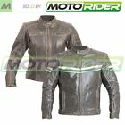 RST Roadster Ladies 1228 Leather Motorcycle Motorbike Jacket   All Colours