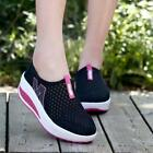 Mesh Womens Sneakers Flats Athletic Breathable Platform Summer Sport Shoes LJ