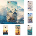 Soft TPU New Hot Mountain Landscape Case Cover For iPhone 6 5 6s 6s Plus