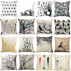 18'' Fashion Decoration Pillowcase Cotton Linen Sofa Cushion Cover Home Decor