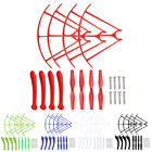 SYMA X5HW X5HC Quadcopter Parts Set 4XPropellers + 4X Landing Skid + 4xProtector