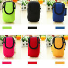 New Outdoor Sports Running Wrist Pouch Mobile Cell Phone Arm Band Bag Wallet FM