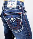 True Religion Men's Hand Picked Straight Super T Jeans - MMD859VA5