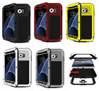 Waterproof Shockproof  Heavy Duty Aluminum Metal Hard Case Cover For Samsung