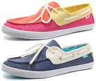 New Vans Chaufette Womens Lace Up Boat Shoes ALL SIZES AND COLOURS