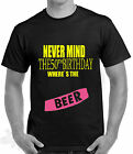 50th birthday,celebration humour t shirt nevermind the 50th,old punk ,all sizes