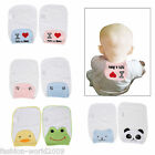 Newborn Baby Infant Cute Sweat Absorb Back Cloth Gauze Muslin Towel Absorb Dry