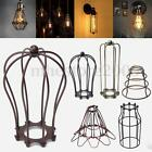 Внешний вид - Vintage Pendant Trouble Light Bulb Guard Wire Cage Ceiling Hanging Lampshade DIY