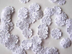 LARGER GUIPURE LACE FLOWERS 16MM WIDE AVAILABLE IN DIFFERENT QUANTITIES