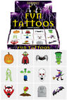 CHILDRENS KIDS HALLOWEEN TATTOOS TRANSFERS BOYS GIRLS TRICK OR TREAT PARTY BAG