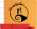 The Nightmare Before Christmas Jack Sally Skellington Wall Decal Sticker Mural