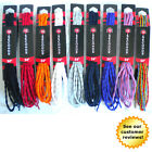 10-Seconds Athletic Bubble Shoe Laces Sneaker Red Blue Rainbow Purple 36 - 63""