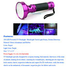 Tactical Zoomable CREE T6 LED 18650 Zoom Flashlight Torch Lamp UV Light Remote