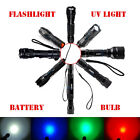 Tactical 1000 Lumen Zoomable CREE T6 LED 18650 Zoom Flashlight Torch Lamp Light