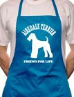 Airedale Terrier Dog Lover Gift BBQ Cooking Funny Novelty Apron