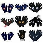Football Team Official Knitted Gloves - One Size Mens Boys Winter - NEW GIFTS