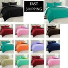 10 COLORS GOOSE DOWN ALTERNATIVE REVERSIBLE 3 PIECE COMFORTER SET  image
