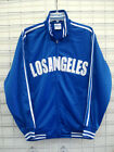 Los Angeles Blue Track  jacket City of Los Angeles Baseball Jacket Dodger style