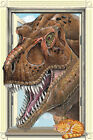 T-Rex Window Dinosauer Laminated Educational Science Class Chart Poster 24x36