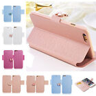 New Luxury Flip Leather Slim Wallet Card Magnetic Case Cover For iPhone6/6S Plus