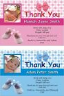 Personalised New Baby Photo Thank You Cards packs of 25 50 75 and 100