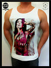 MENS SINGLET fashion nena  SEXY zero death FESTIVAL club TANK TOP S M L XL 2XL