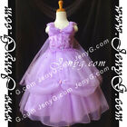 #PFP8 Girls Wedding Holiday Birthday Pageant Party Graduation Prom Dress Gown