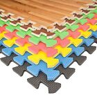 Eva Soft Foam Floor Mats Interlocking Gym Kids Exercise Play Mat Office Garage