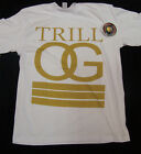 Trill OG One Deep Original White Shirt L-3XL Screen Printed Piranha Records