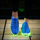 Fashion glowing shoes with lights up luminous casual shoes men canvas led shoes