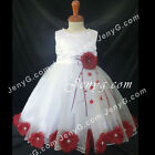 #MFBG5 Baby Girls Christening Communion Birthday Pageant Party Prom Gown Dress
